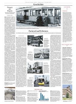 Täglich 4 neue Seiten für die Berliner Zeitung