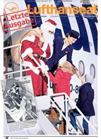 Ende des Lufthansa Mitarbeitermagazins Lufthanseat