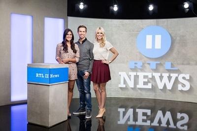 Neues Studio für die RTL II News