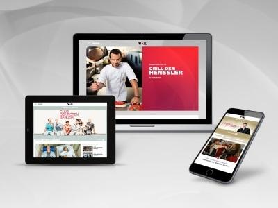 VOX.de zeigt sich in neuem Design