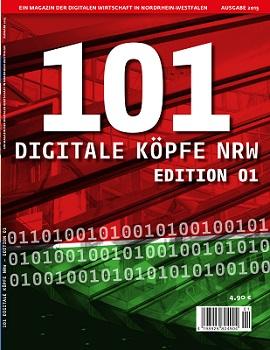 101 Digitale Köpfe NRW erscheint am Kisok