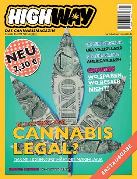 Highway – Das Cannabismagazin kommt ans Kiosk