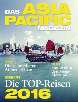 ASIA PACIFIC Magazin erscheint ab Herbst 2016