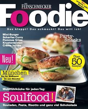 Neues Food-Magazin Foodie kommt auf den Markt