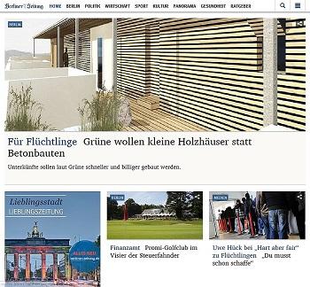 Neuer Online-Auftritt der Berliner Zeitung