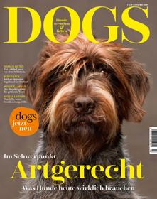 Hundemagazin DOGS mit neuem Auftritt