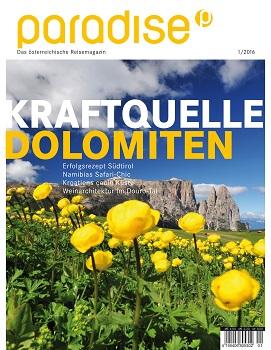 Neue Reisemagazine paradise kommt auf dem Markt