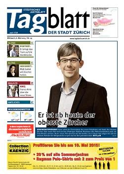 Andy Fischer verabschiedet sich vom Tagblatt der Stadt Zürich