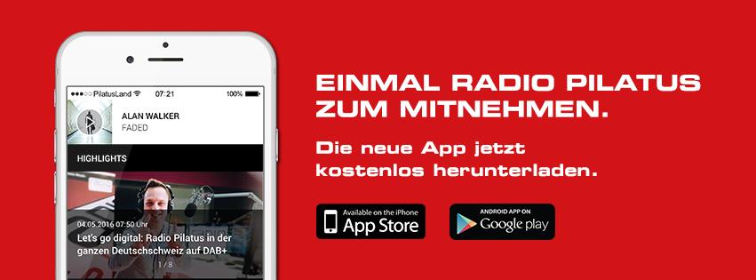 Radio Pilatus mit neuer App