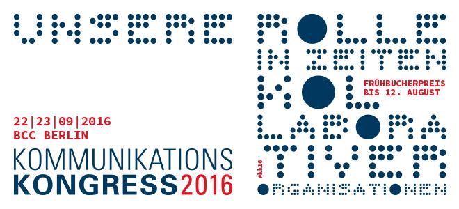 Cision auf dem Kommunikationskongress 2016