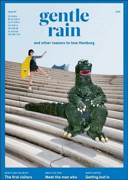 Agentur Die Brueder mit neuem Magazin Gentle Rain