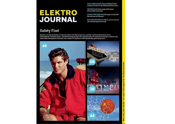 Neuer Chefredakteur für elektrojournal