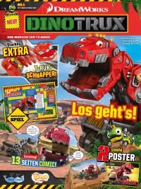 Neue Kinderzeitschrift DINOTRUX im Handel