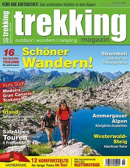 Trekking Magazin erhöht Erscheinungsweise