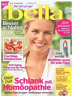 Frauenmagazin bella in neuem Gewand