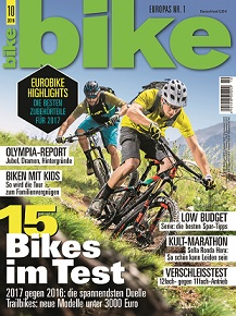 Relaunch des Mountainbike-Magazins bike