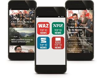FUNKE MEDIENGRUPPE mit neuer Nachrichten-App