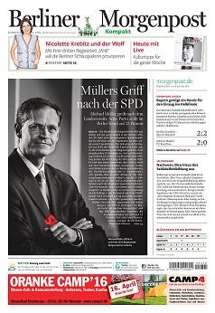 Berliner Morgenpost im Wandel