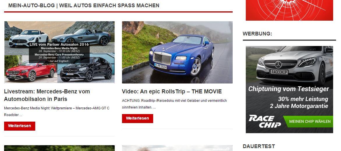 Mein Auto Blog
