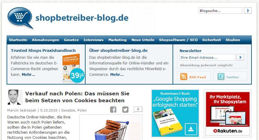 E-Commerce - 9 Blogs aus Deutschland, die Sie kennen sollten