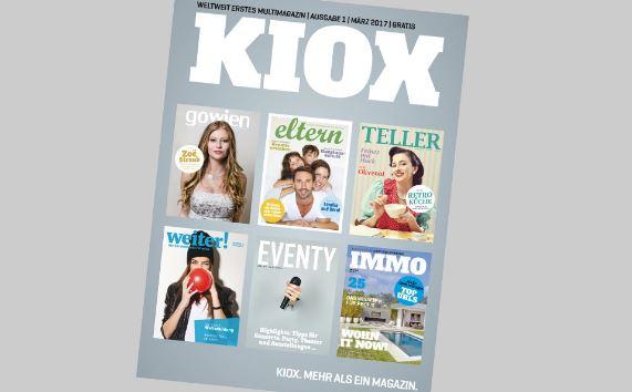 Lifestylemagazin KIOX wird lanciert