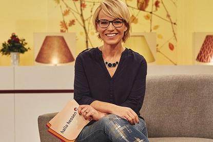 Andrea Ballschuh wird Mdoeratorin von 'Hallo Hessen'