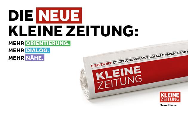 Relaunch der KLEINEN ZEITUNG
