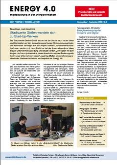 Neues Fachmagazin Energy 4.0