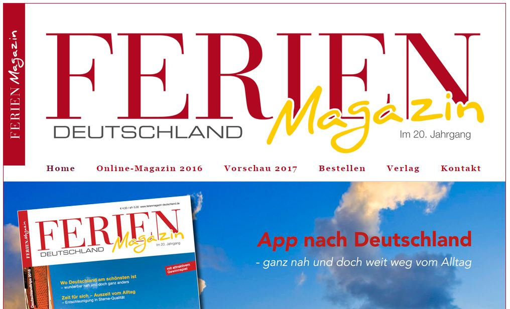 Reisen - 11 Magazine aus der DACH-Region, von denen Sie Fernweh bekommen
