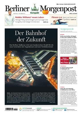 Berliner Morgenpost lanciert Tabloid-Ausgabe