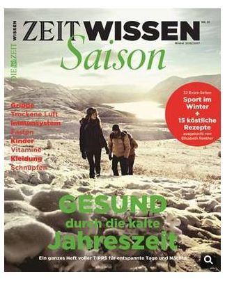 Neues Magazin ZEIT WISSEN Saison