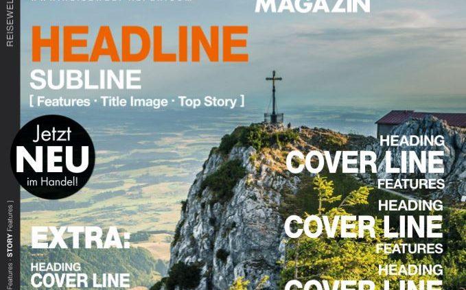 Neue Zeitschrift REISEWELT ALPEN MAGAZIN