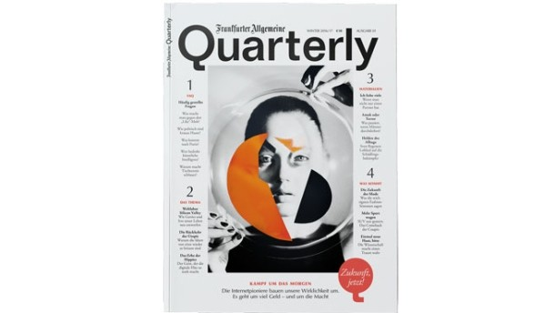 Neues Magazin Frankfurter Allgemeine Quarterly (F.A.Q.)