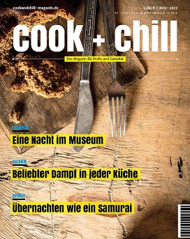 Neues Magazin Cook + Chill