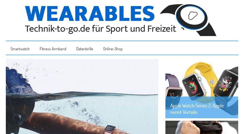 Wearables - 10 deutsche Blogs zum Mitnehmen und Stöbern