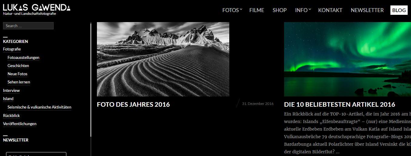 Fotografie - 7 Blogs aus der DACH-Region, die Sie sich mal ansehen sollten