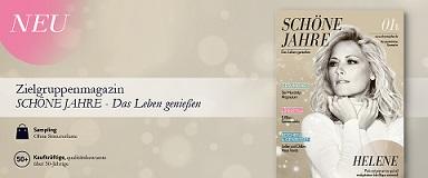 Neues 50plus-Lifestyle-Magazin SCHÖNE JAHRE