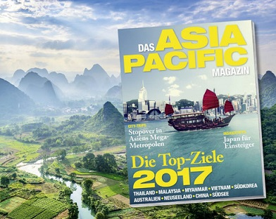 Neues Reisemagazin ASIA PACIFIC Magazin