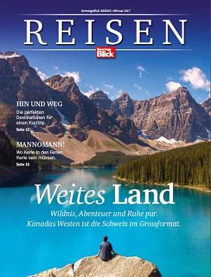 Neues Magazin 'Reisen' als Beilage zu 'SonntagsBlick'
