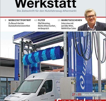 Relaunch des Automagazins PROFI Werkstatt