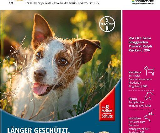 Relaunch von 'Der Praktische Tierarzt'