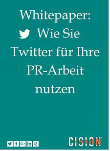 6 Tipps, wie Sie Twitter für Ihre PR nutzen können