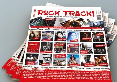 Neues Musikmagazin Rock Track!
