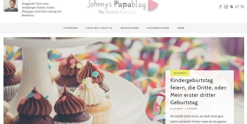 """""""Dank des Blogs kann ich präsenter im Leben meiner Tochter sein"""" - Cision meets Johnnys Papablog"""