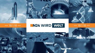 Nachrichtensender N24 wird DIE WELT