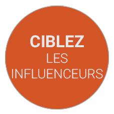 Cibler les influenceurs
