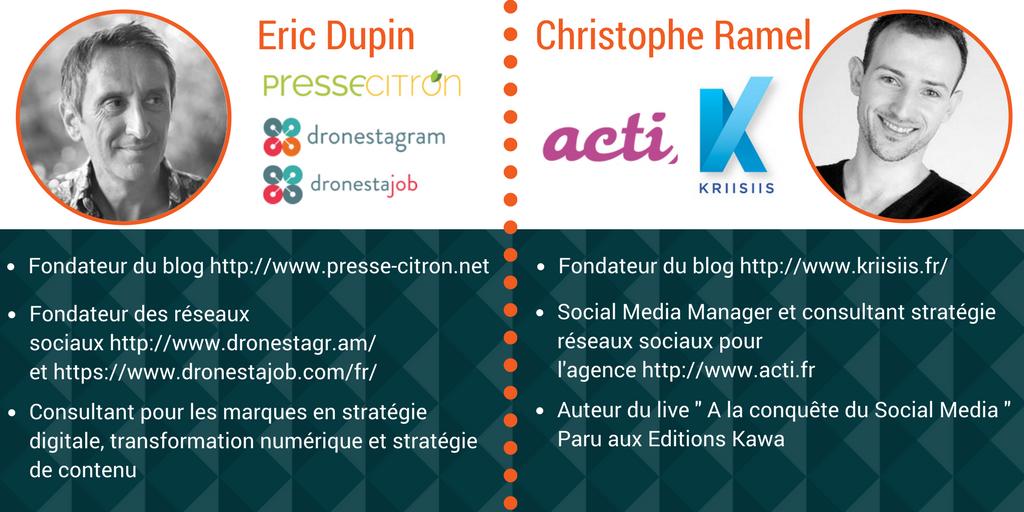 Eric Dupin - Christophe Ramel