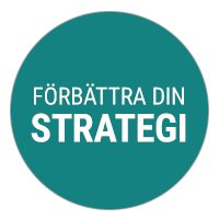 Förbättra din strategi.