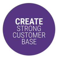 Create a Strong Customer Base