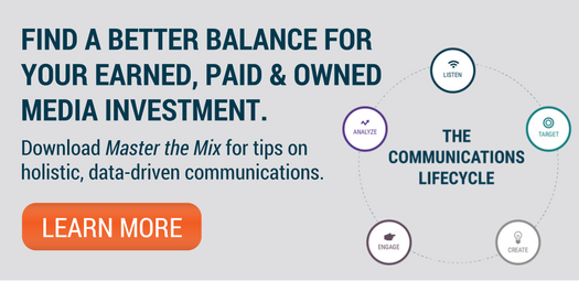 master the mix amplify earned media communications end banner